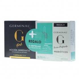 Germinal 5 Ampollas + 5 Ampollas Acción Prebióticos