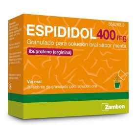 Espididol 400 MG 20 Sobres Granulado Solución Oral Sabor Menta