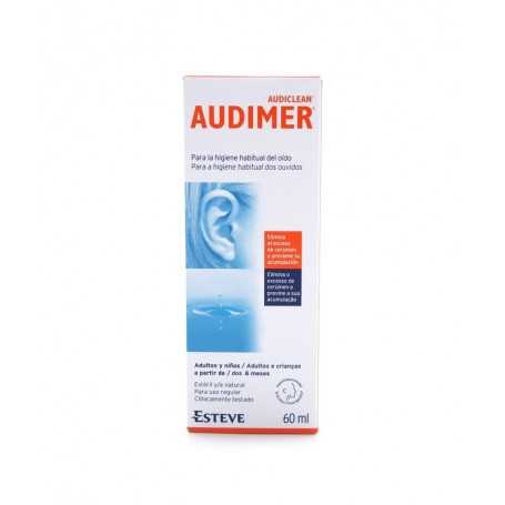 Audimer Solución Limpieza Oídos 60 ML