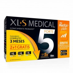 Pack XLS Medical Forte 5 Nudge Plan 180 Cápsulas 3 Meses