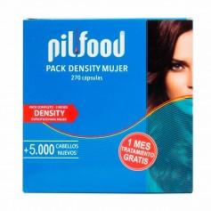 Pack Pilfood Density Woman 90 Cápsulas + Champú