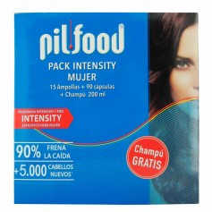 Pack Pilfood Density Woman 15 Ampollas +90 Cap+Cahmou 200 ML