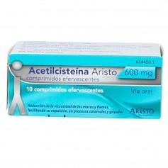 Acetilcisteína Aristo 600 MG 10 Comprimidos Efervescentes