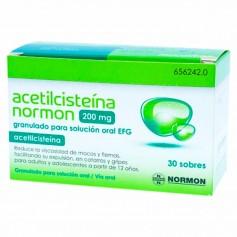 Acetilcisteína Normon 200 MG 30 Sobres