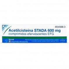 Acetilcisteína Stada 600 MG 20 Comprimidos Efervescentes