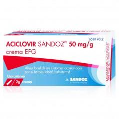 Aciclovir Sandoz 50 MG/GR Crema 2 GR