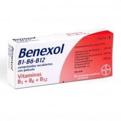 Benexol B1-B6-B12 30 Comprimidos Recubiertos