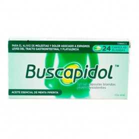 Buscapidol 0,2 ML 24 Cápsulas Blandas Gastrorresistentes
