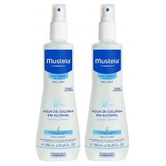 Duplo Mustela Piel Normal Agua De Colonia 2X200 ML