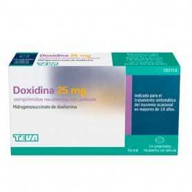 Doxidina 25 MG 14 Comprimidos Recubiertos