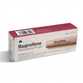 Farmasierra Ibuprofeno 50 MG/G Gel Cutáneo 1 Tubo 50 GR