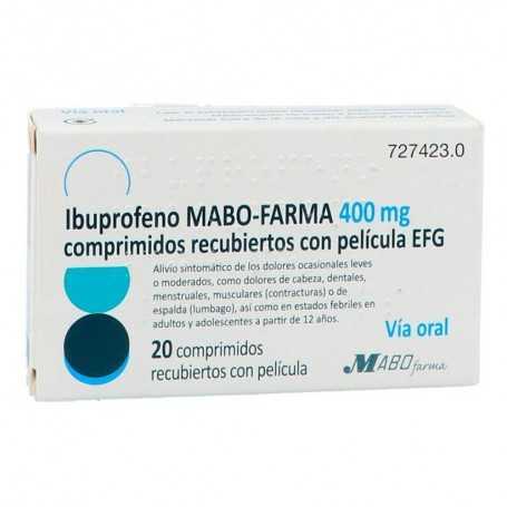 Ibuprofeno Mabo-Farma EFG 400 MG 20 Comprimidos Recubiertos