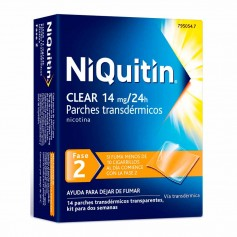 Niquitin Clear 14 MG 14 PARCHES