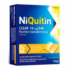 Niquitin Clear 14 MG 28 PARCHES