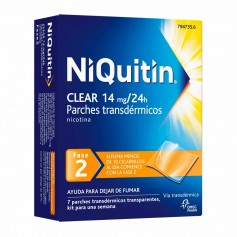 Niquitin Clear 14 MG 7 PARCHES