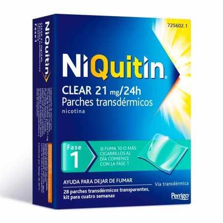 Niquitin Clear 21 MG 28 Parches