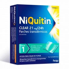 Niquitin Clear 21 MG 28 Parches