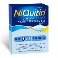 Niquitin Clear 21 MG 7 Parches
