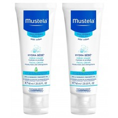 DUPLO MUSTELA PIEL NORMAL HYDRA BEBE CREMA FACIAL 40 ML