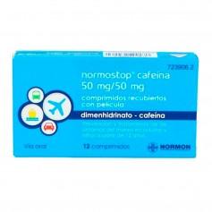 Normostop Cafeína 50 MG 12 Comprimidos
