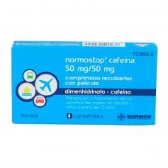 Normostop Cafeína 50 MG 4 Comprimidos