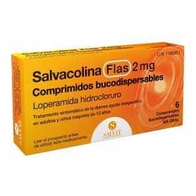 Salvacolina Flas 2 MG 6 Comprimidos Bucodispersables
