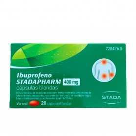 Ibuprofeno Stadapharm 400 MG 20 Cápsulas Blandas