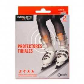 Farmalastic Sport Protect Tibiales 2 Unidades