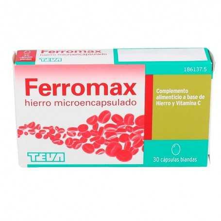 Ferromax 30 Cápsulas Blandas