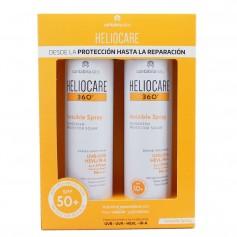 Duplo Heliocare 360 Invisible Spray SPF50+ Protector Solar 2x200 ML