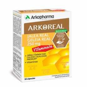 Arkoreal Vitamina Forte 250 MG Jalea Real 30 Cápsulas