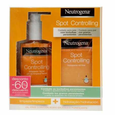 Pack Neutrogena Spot Controlling Limpiador 200 ML + Hidratante 50 ML