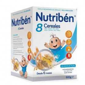 Nutriben Papilla 8 Cereales 600 GR