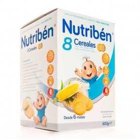 Nutriben 8 Cereales Galletas María 600 GR