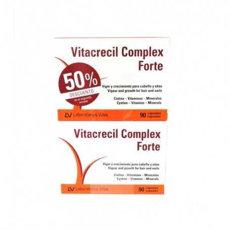 DUPLO VITACRECIL COMPLEX FORTE 2X90 CAPSULAS