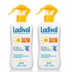 Pack Ladival Niños SPR FP50 200 ML