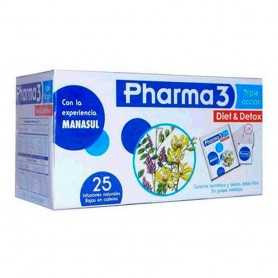 Pharma 3 Diet Detox 25 Infusiones