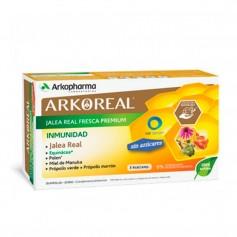 Arkoreal Jalea Real Inmunidad Sin Azúcares 20 Ampollas 15 ML