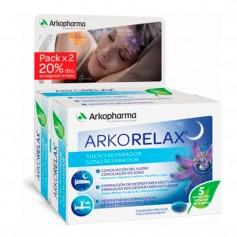 Duplo Arkorelax Sueño Melatonina 1GR 60 30 + 30 Cápsulas