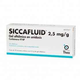 Siccafluid Gel Oftálmico 30 Monodosis