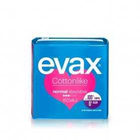 Evax Cottonlike Compresas Normal Alas 16 Unidades