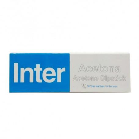 Inter Acetona 50 Tiras