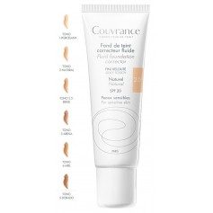AVENE COUVRANCE MAQUILLAJE FLUIDO NATURAL