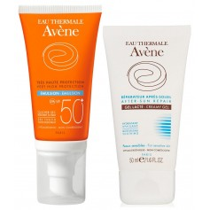 PACK AVENE SOLAR EMULSION 50 ML + GEL CREMA REPARADORA 50 ML