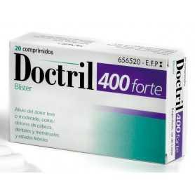 DOCTRIL 400 FORTE 20 COMPRIMIDOS