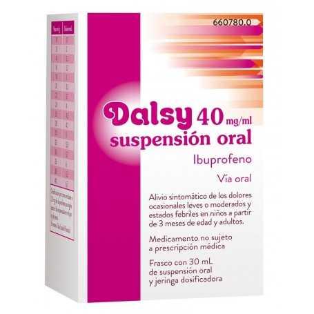 dosis de dalsy 20 mg/ml