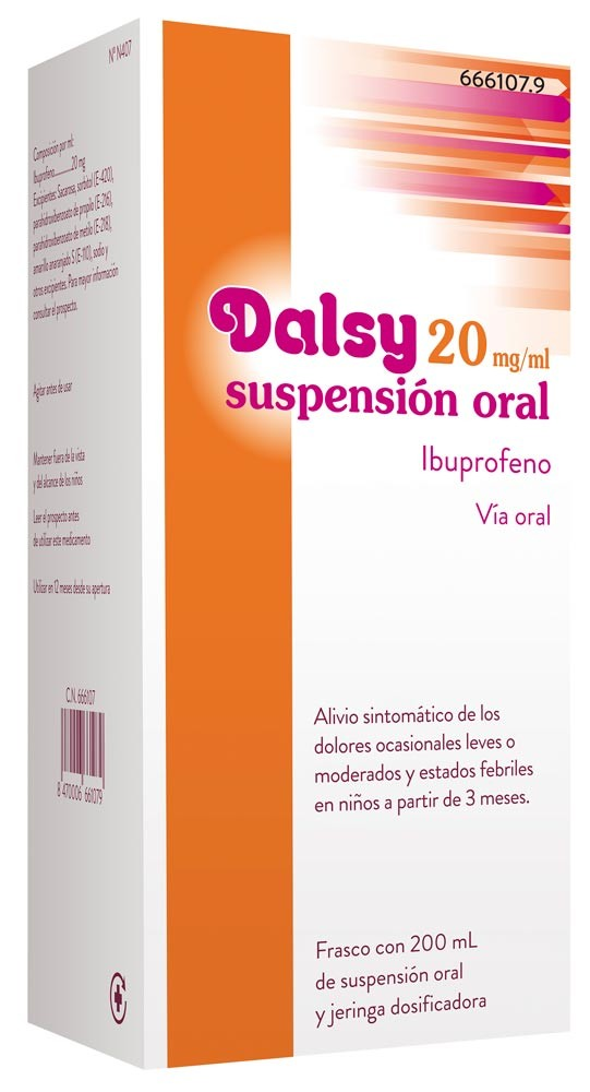 Dalsy 20 Mg Ml Suspension Oral 200 Ml