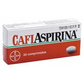 CAFIASPIRINA 20 COMPRIMIDOS