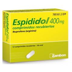 ESPIDIDOL 400 MG 12 COMPRIMIDOS RECUBIERTOS
