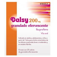 DALSY 200 MG 20 SOBRES GRANULADO EFERVESCENTE